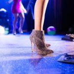 ステージのブーツ